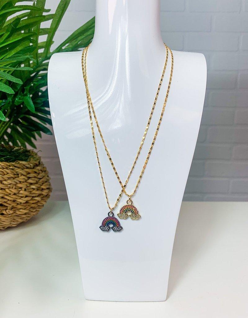 GEMELLI Jeweled Rainbow Necklace