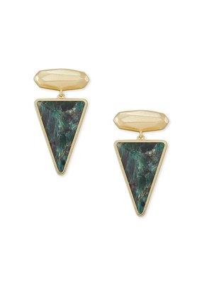 KENDRA SCOTT Vivian Gold Drop Earrings