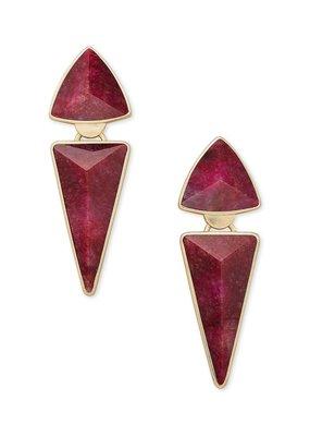 KENDRA SCOTT Vivian Gold Statement Earrings