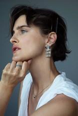 KENDRA SCOTT Jack Gold Small Statement Earrings