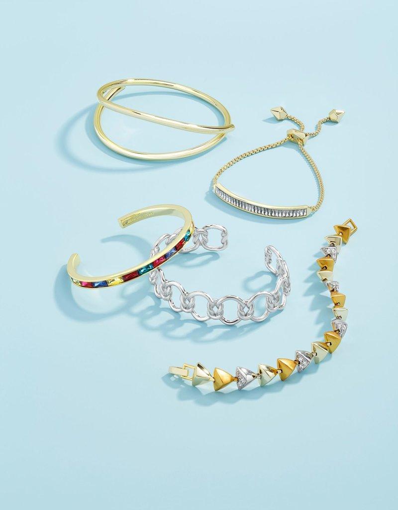 KENDRA SCOTT Jack Silver Adjustable Bracelet