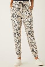 FIFTEEN TWENTY Nita's Reptile Knit Pants