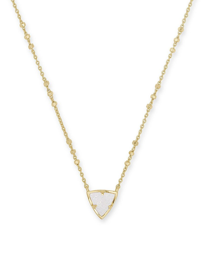 KENDRA SCOTT Perry Gold Pendant Necklace