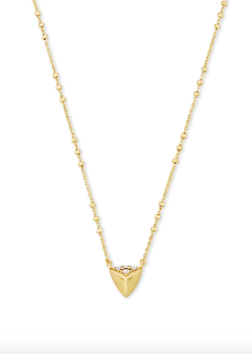 KENDRA SCOTT Perry Metal Pendant Necklace
