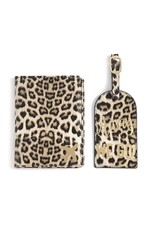 SHIRALEAH Away We Go Passport Luggage Tag Set