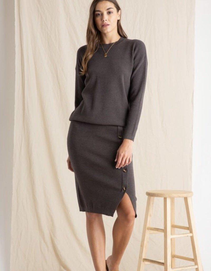 WELLMADE Chrisley Sweater & Skirt Set