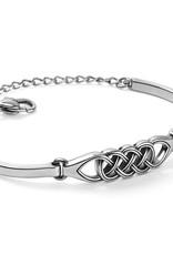 Interlok Braid Bar Bracelet