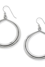 Interlok Circle French Wire Earrings