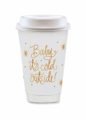 FAIRE Baby It's Cold Outside To-Go Cups