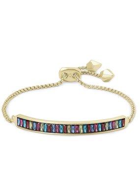 KENDRA SCOTT Jack Gold Adjustable Bracelet