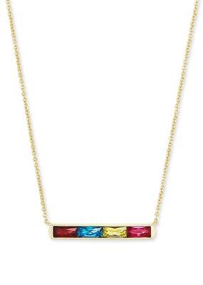 KENDRA SCOTT Jack Gold Pendant Necklace