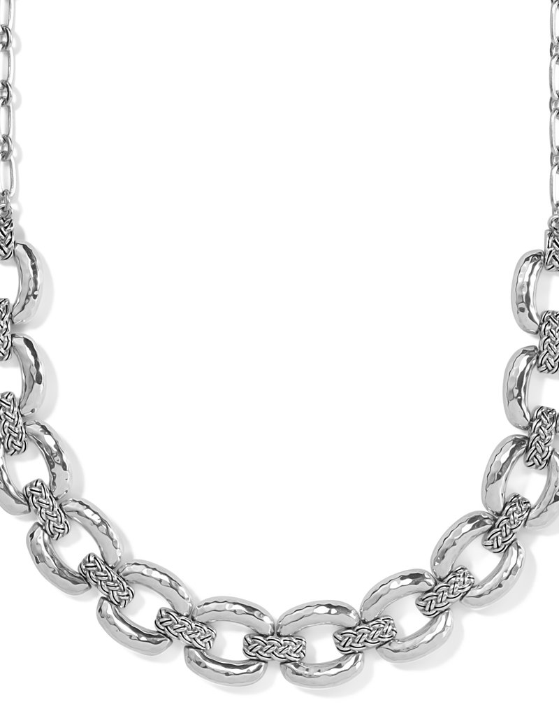 Interlok Woven Collar Necklace