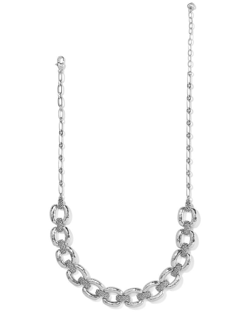 Interlok Woven Collar Necklace
