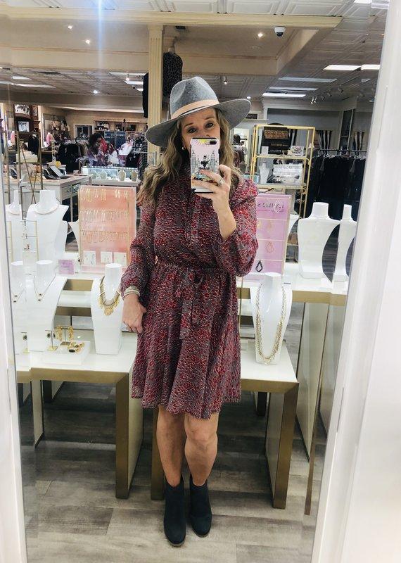 JADE MELODY Cleo's Flared Dress