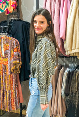 JADE MELODY Mad About Plaid Top