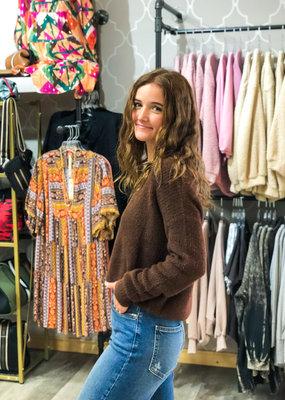 MOLLY BRACKEN Lady Knit Sweater