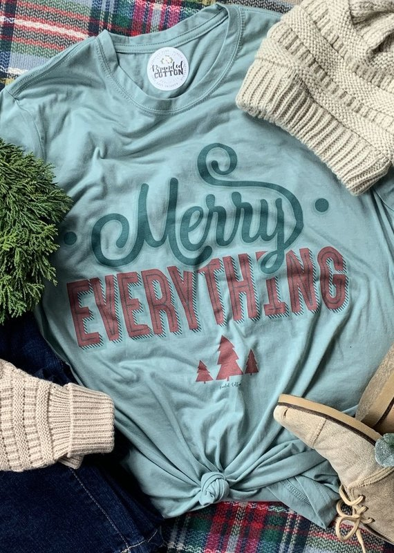 BRANDED COTTON Merry Everything Tee