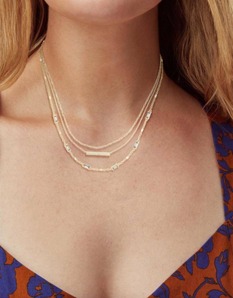 KENDRA SCOTT Addison Multi Strand Necklace