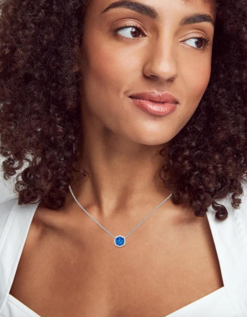 KENDRA SCOTT Davie Silver Short Pendant Necklace