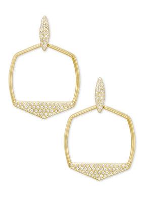 KENDRA SCOTT Selena Open Frame Earrings