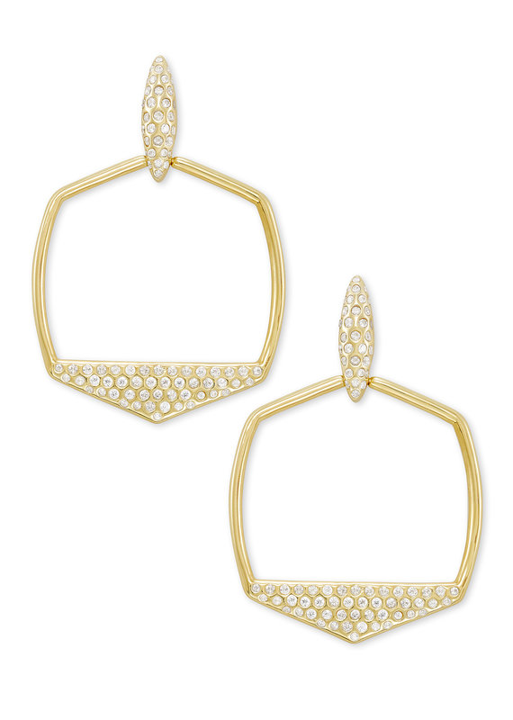 KENDRA SCOTT Selena Open Frame Earrings