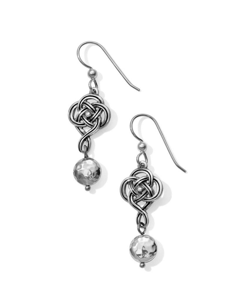 Interlok Knot French Wire Earrings