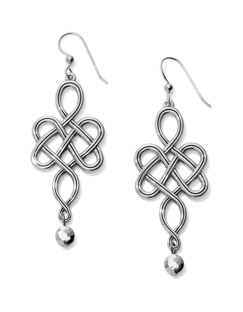 Interlok Endless Knot French Wire Earrings