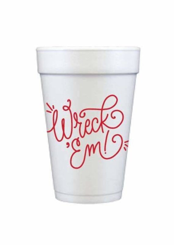 FAIRE Wreck 'Em Foam Cups