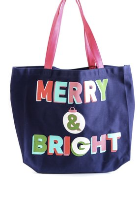 3HAPPYHOOLIGANS Merry & Bright Tote