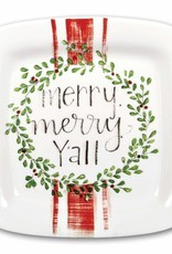 FAIRE Merry Merry Y'all Plate