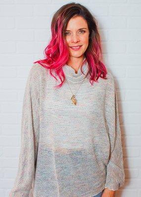 HELLO NITE Tana Softest Tunnel Neck Sweater