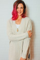 RDINTERNATIONAL Meg Soft Cable Knit Sweater