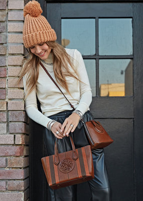 Tanner Tote in Whiskey