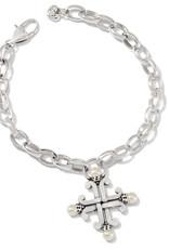 Taos Pearl Cross Bracelet