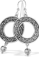 Interlok Weave French Wire Earrings