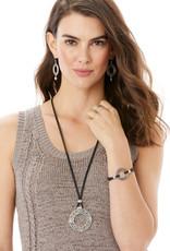 Interlok Weave Long Necklace