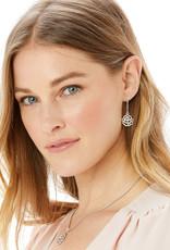 The Botanical Rose Post Drop Earrings