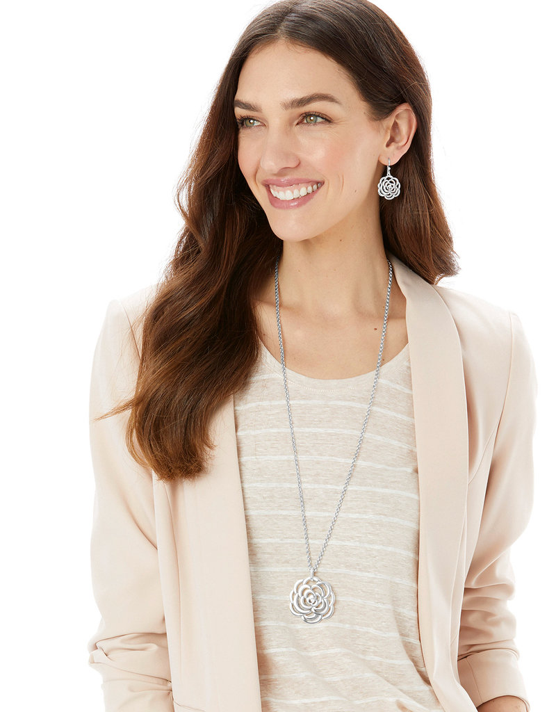 The Botanical Rose Convertible Necklace