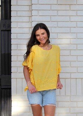 IVY JANE Yellow Mellow Top