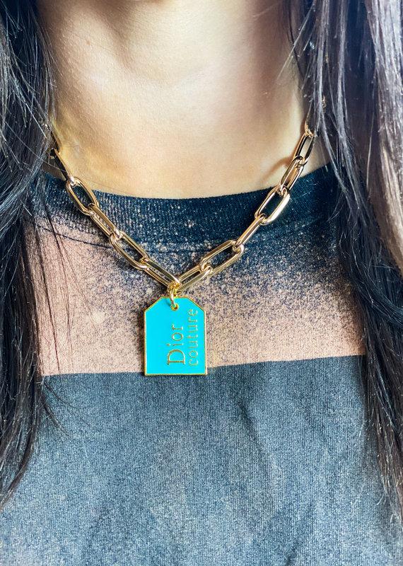 JHOFFMAN Dior Designer CharmNecklaces