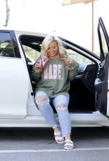 THINGS SHE LOVES Babe Sweatshirt