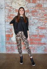 KARLIE Molly Leopard Joggers
