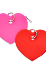 O-VENTURE Silicone Heart Pouches