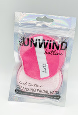 HOTLINE WHOLESALE Dual Texture Mini Facial Pads