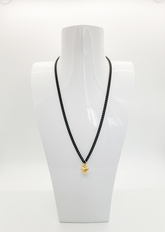 VIRTUE Heart Eyes Necklace