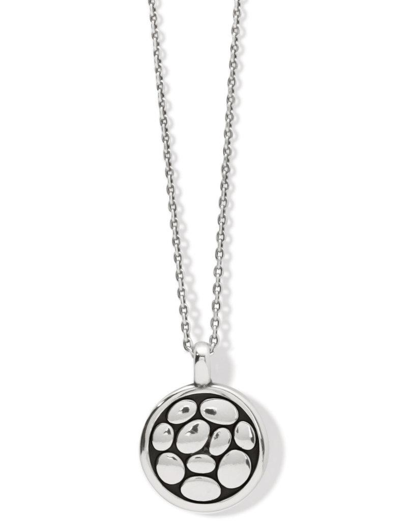 Pebble Round Reversible Petite Necklace