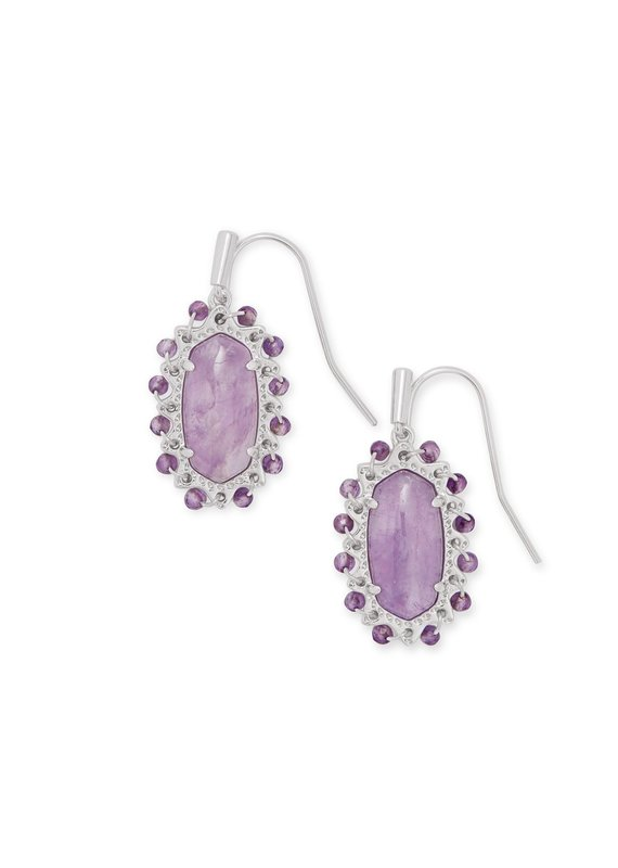 KENDRA SCOTT Beaded Lee Drop Earrings