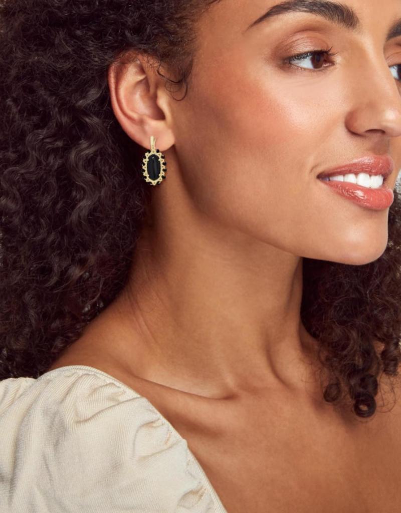 KENDRA SCOTT Beaded Lee Drop Earrings