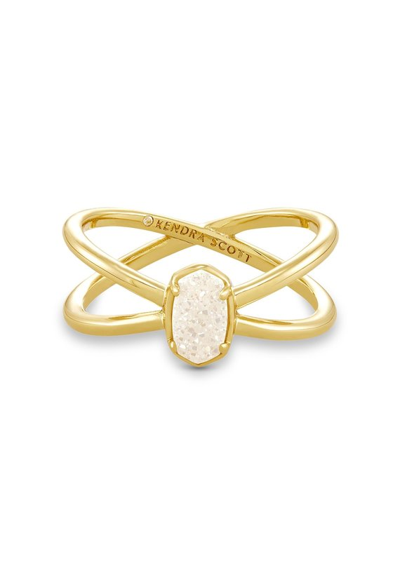 KENDRA SCOTT Emilie Double Band Ring