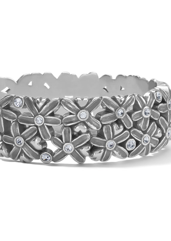 Wild Flowers Hinged Bangle